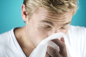 Yogic breathing to resistance cold the infection of the nasal mucous